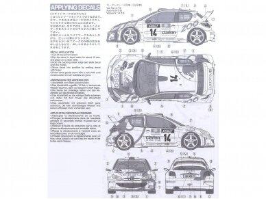 Tamiya - Peugeot 206 WRC, Mastelis: 1/24, 24221 8