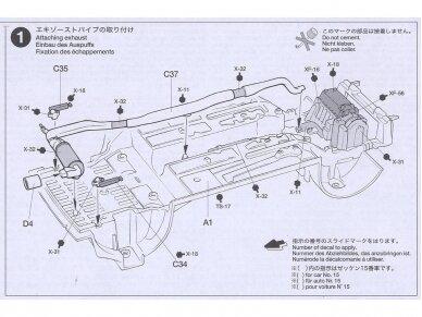 Tamiya - Peugeot 206 WRC, Mastelis: 1/24, 24221 9