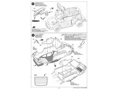 Tamiya - Porsche 911 Turbo`88, Mastelis: 1/24, 24279 9