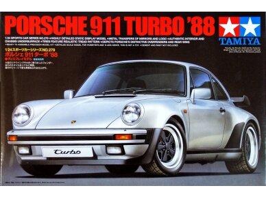 Tamiya - Porsche 911 Turbo`88, Mastelis: 1/24, 24279