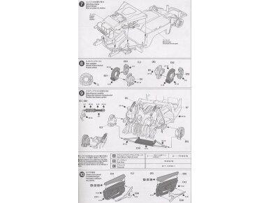 Tamiya - Porsche Carrera GT, Mastelis: 1/24, 24275 11