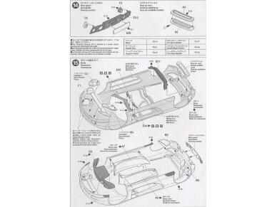 Tamiya - Porsche Carrera GT, Mastelis: 1/24, 24275 13