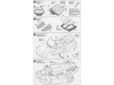Tamiya - Porsche Carrera GT, Mastelis: 1/24, 24275 14