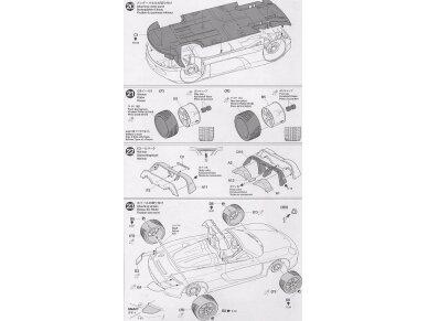 Tamiya - Porsche Carrera GT, Mastelis: 1/24, 24275 15