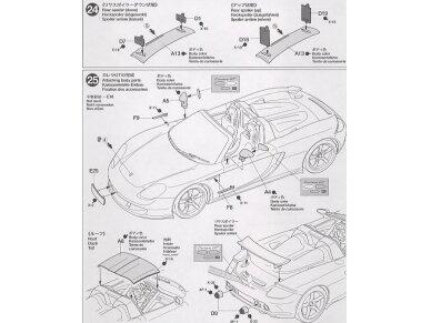 Tamiya - Porsche Carrera GT, Mastelis: 1/24, 24275 16