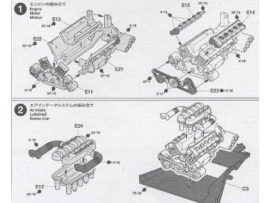 Tamiya - Porsche Carrera GT, Mastelis: 1/24, 24275 9