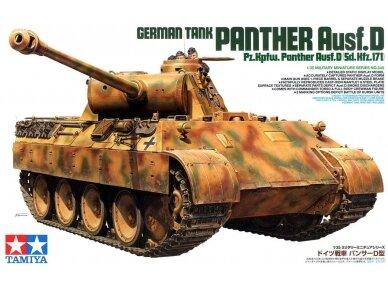 Tamiya - Pz.Kpfw. Panther Ausf. D, Mastelis: 1/35, 35345