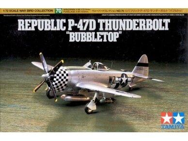 Tamiya - Republic P-47D Thunderbolt, Mastelis:1/72, 60770