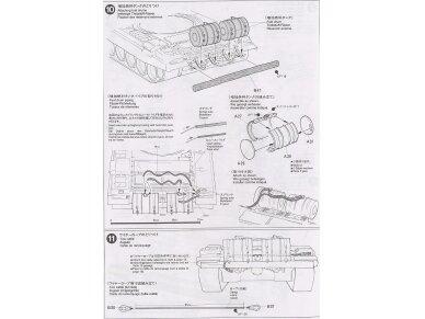 Tamiya - Russian Army Tank T-72M1, Mastelis: 1/35, 35160 15