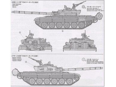 Tamiya - Russian Army Tank T-72M1, Mastelis: 1/35, 35160 10