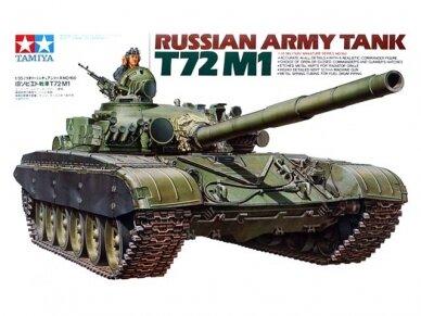 Tamiya - Russian Army Tank T-72M1, Mastelis: 1/35, 35160