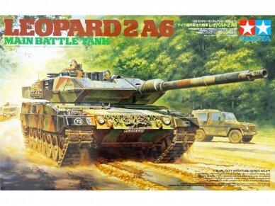 Tamiya - Main Battle Tank Leopard 2A6, Scale:1/35, 35271
