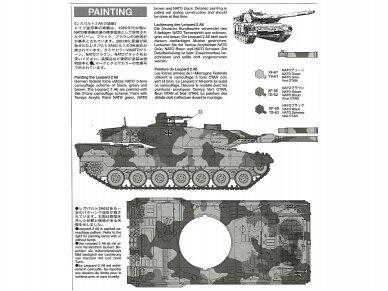 Tamiya - Main Battle Tank Leopard 2A6, Mastelis: 1/35, 35271 7