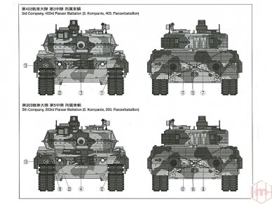 Tamiya - Main Battle Tank Leopard 2A6, Scale:1/35, 35271 9