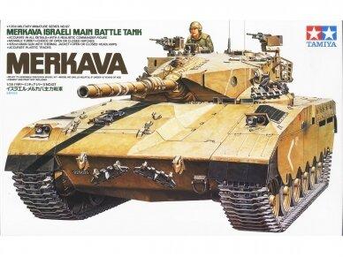 Tamiya - Israeli Main Battle Tank Merkava, Mastelis: 1/35, 35127
