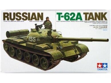Tamiya - Russian T-62A Tank, Mastelis: 1/35, 35108