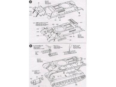 "Tamiya - Russian T34/76 ""ChTZ"", Mastelis: 1/35, 35149 11"