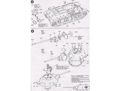 "Tamiya - Russian T34/76 ""ChTZ"", Mastelis: 1/35, 35149 12"
