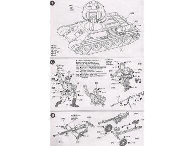"Tamiya - Russian T-34/76 ""ChTZ"", Scale:1/35, 35149 13"