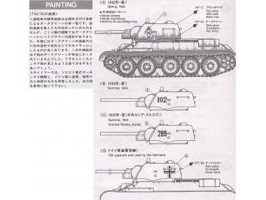 "Tamiya - Russian T-34/76 ""ChTZ"", Scale:1/35, 35149 8"