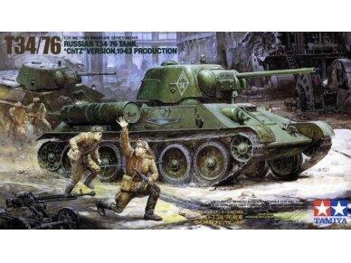 "Tamiya - Russian T34/76 ""ChTZ"", Mastelis: 1/35, 35149"