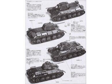Tamiya - Russian Tank T-34/76, Mastelis: 1/35, 35059 11