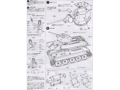 Tamiya - Russian Tank T-34/76, Mastelis: 1/35, 35059 10