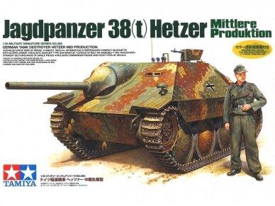 Tamiya - Jagdpanzer 38(t) Hetzer Mittlere Produktion, Mastelis: 1/35, 35285