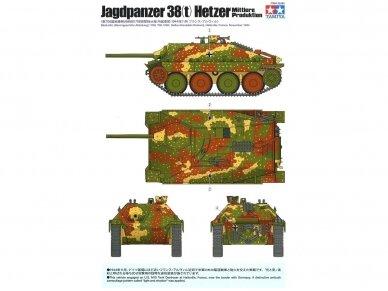 Tamiya - Jagdpanzer 38(t) Hetzer Mittlere Produktion, Mastelis: 1/35, 35285 3