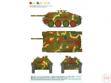 Tamiya - Jagdpanzer 38(t) Hetzer Mittlere Produktion, Mastelis: 1/35, 35285 4