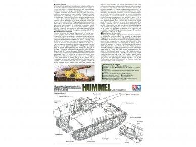 Tamiya - Sd.Kfz.165 Hummel (Late), Mastelis: 1/35, 35367 6