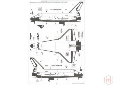 Tamiya - Space Shuttle Atlantis, Scale: 1/100, 60402 11