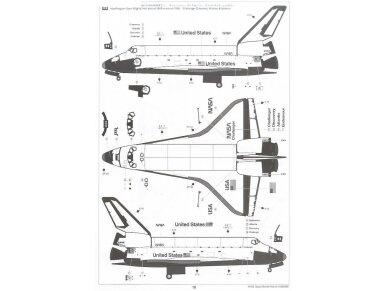 Tamiya - Space Shuttle Atlantis, Mastelis: 1/100, 60402 11