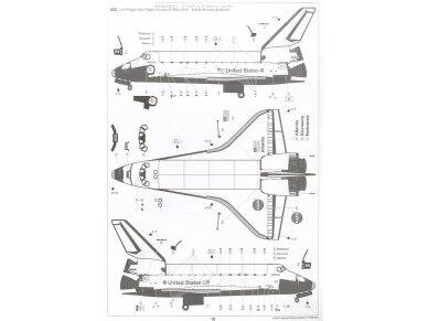Tamiya - Space Shuttle Atlantis, Mastelis: 1/100, 60402 12