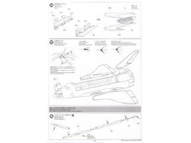 Tamiya - Space Shuttle Atlantis, Mastelis: 1/100, 60402 18
