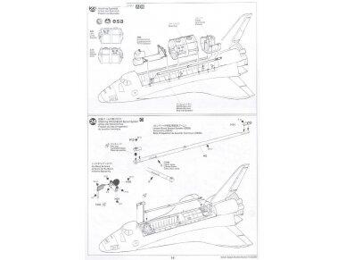 Tamiya - Space Shuttle Atlantis, Mastelis: 1/100, 60402 21