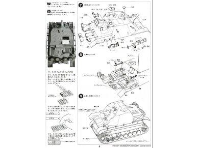 Tamiya - Sturmpanzer IV Brummbär, Scale:1/35, 35077 11