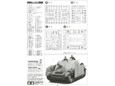 Tamiya - Sturmpanzer IV Brummbär, Scale:1/35, 35077 14