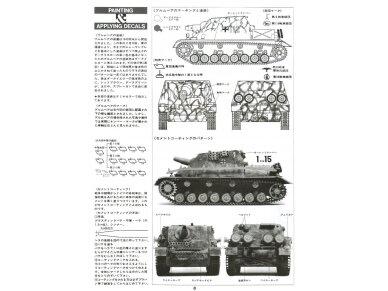 Tamiya - Sturmpanzer IV Brummbär, Scale:1/35, 35077 8