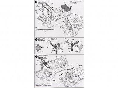 Tamiya - Subaru Impreza 2001 GB rally, Mastelis: 1/24, 24250 10