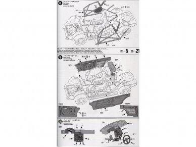 Tamiya - Subaru Impreza 2001 GB rally, Mastelis: 1/24, 24250 12