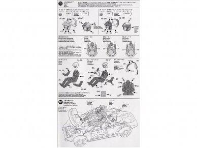 Tamiya - Subaru Impreza 2001 GB rally, Mastelis: 1/24, 24250 13
