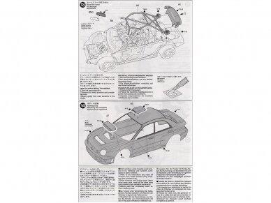 Tamiya - Subaru Impreza 2001 GB rally, Mastelis: 1/24, 24250 14