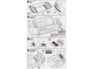 Tamiya - Subaru Impreza 2001 GB rally, Mastelis: 1/24, 24250 15