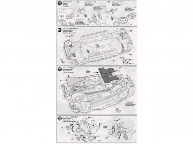 Tamiya - Subaru Impreza 2001 GB rally, Mastelis: 1/24, 24250 16