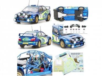 Tamiya - Subaru Impreza 2001 GB rally, Mastelis: 1/24, 24250 2