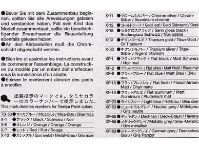 Tamiya - Subaru Impreza 2001 GB rally, Mastelis: 1/24, 24250 7