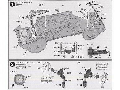 Tamiya - Subaru Impreza 2001 GB rally, Mastelis: 1/24, 24250 9