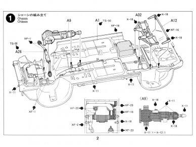 Tamiya - Subaru Impreza WRC '99, Mastelis: 1/24, 24218 9