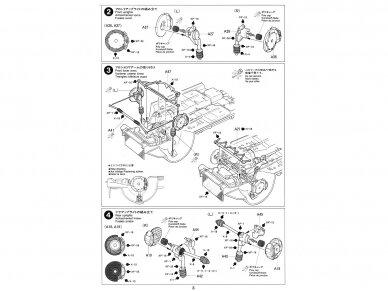 Tamiya - Subaru Impreza WRC '99, Mastelis: 1/24, 24218 10